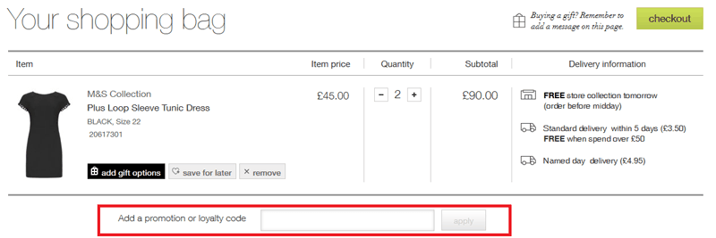 How To Use Marks and Spencer Discount Code