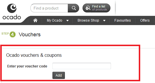 How to use Ocado Discount Code