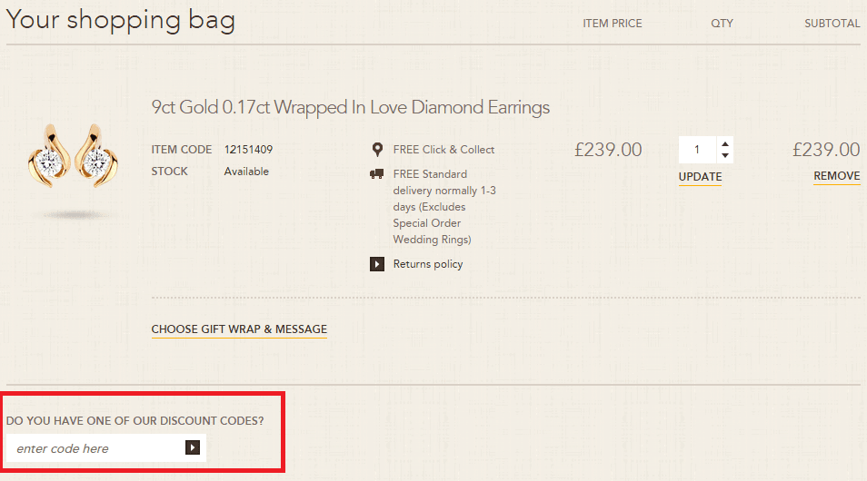 How to use Goldsmiths Discount Code