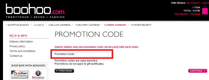 How to use Boohoo Discount Code-2