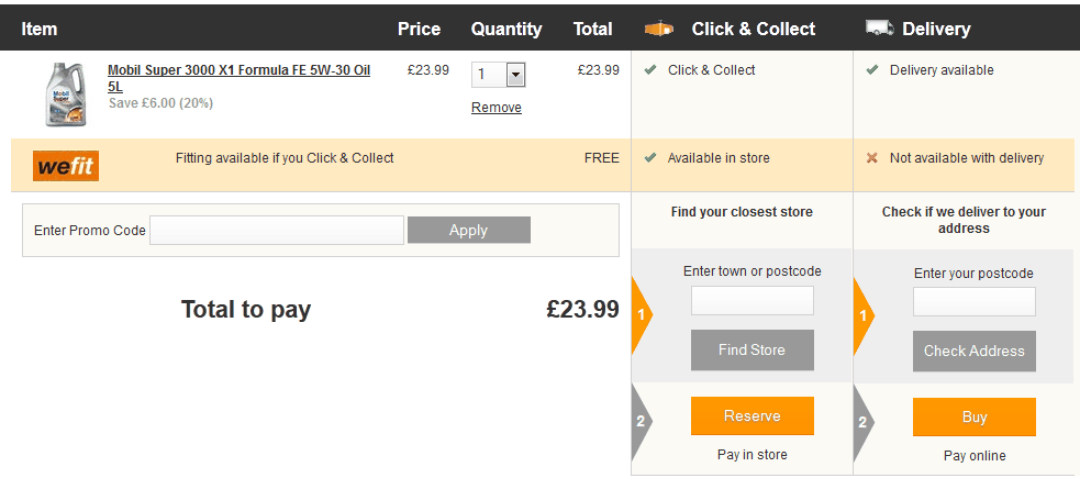 How to use Halfords Discount Code