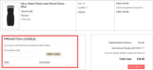 How to use Dorothy Perkins Discount Code