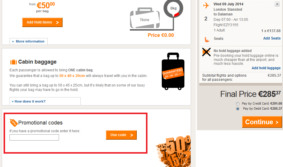 How to Use EasyJet Discount Code